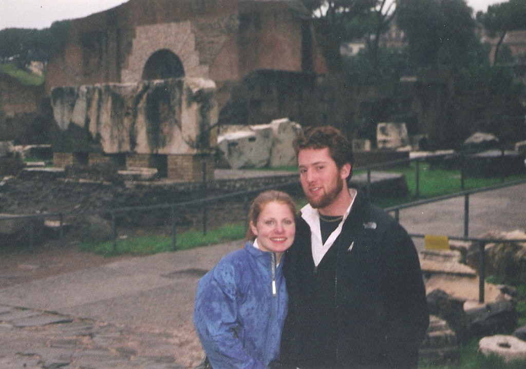susie & mike in rome