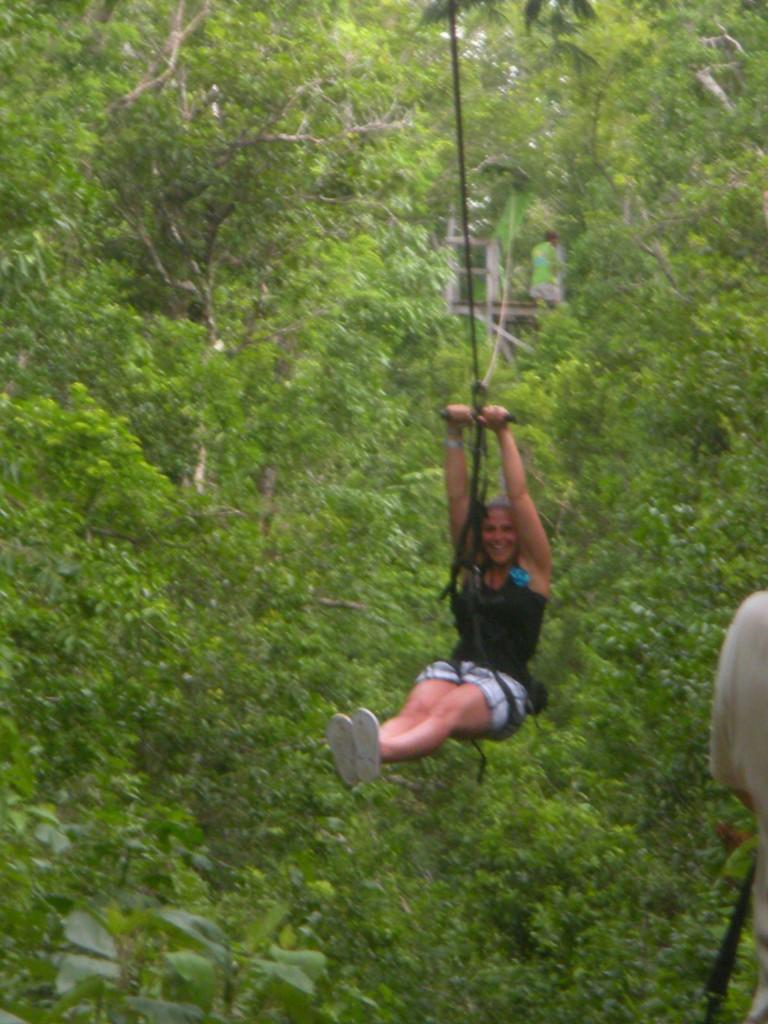 ziplining in mexico