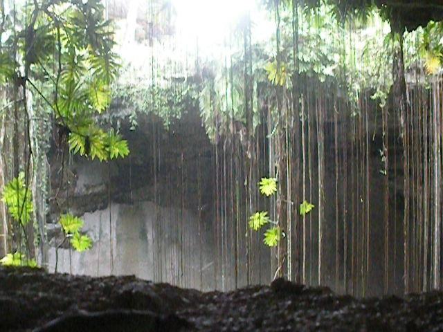 deep cenote in mexico