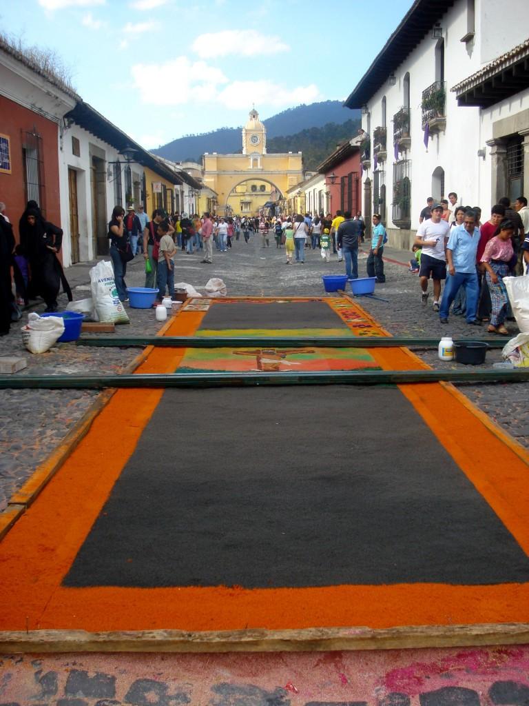 parade during la semana santa