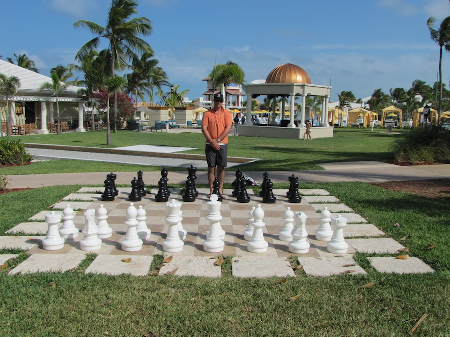 chess at sandals