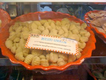 gnocchi in eastern market