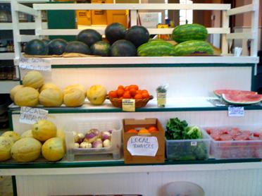 fresh produce in eastern market