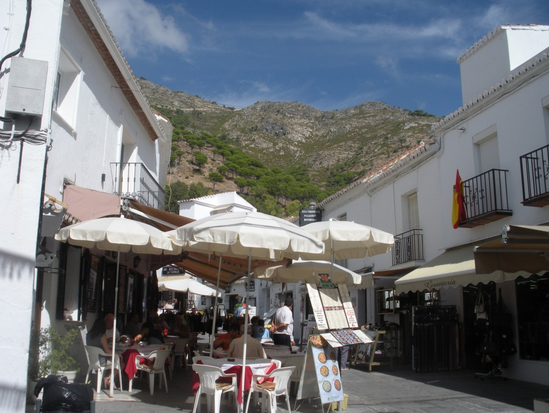 Plaza in Mijas