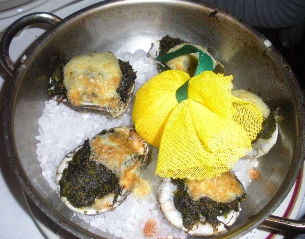 oysters rockefellar arnauds
