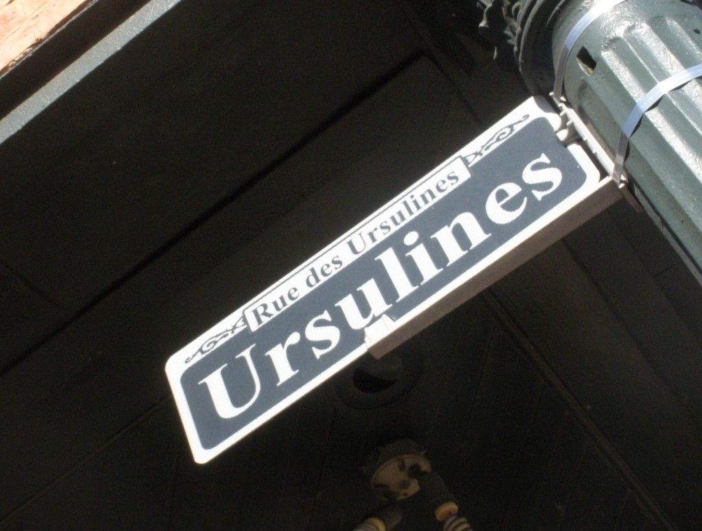 ursulines street