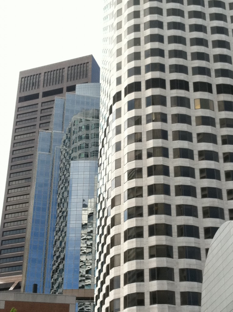 building reflection photo