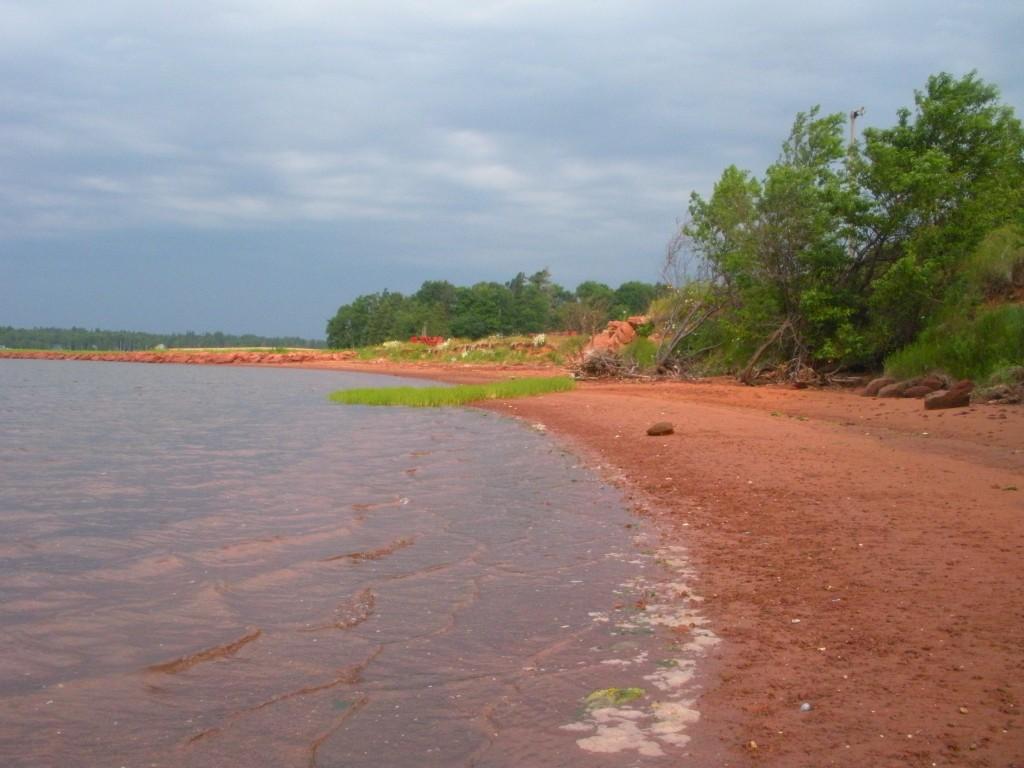 red clay beach