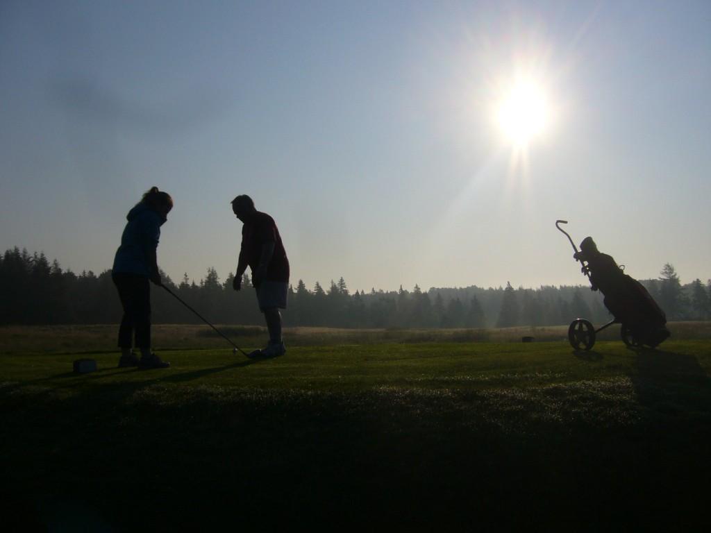 golfing in pei