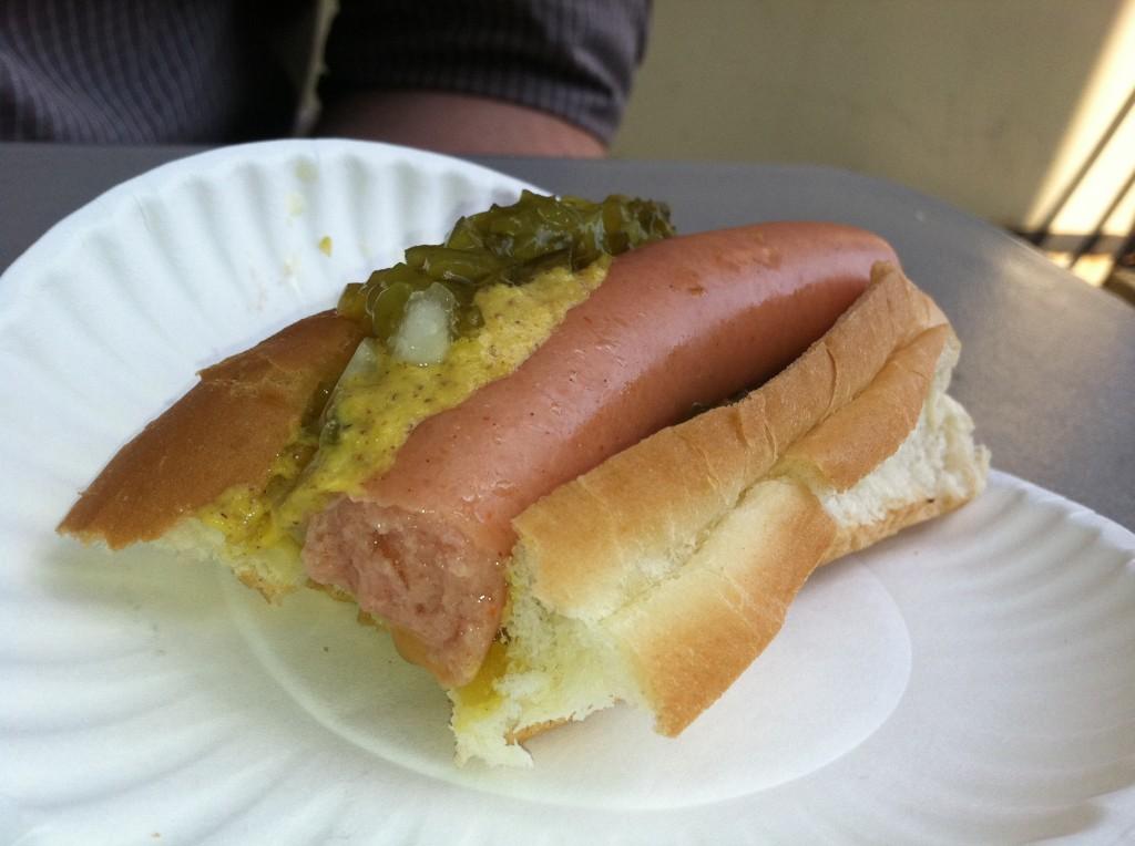 casey's diner hot dog
